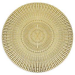 Herringbone Pressed Vinyl Placemat