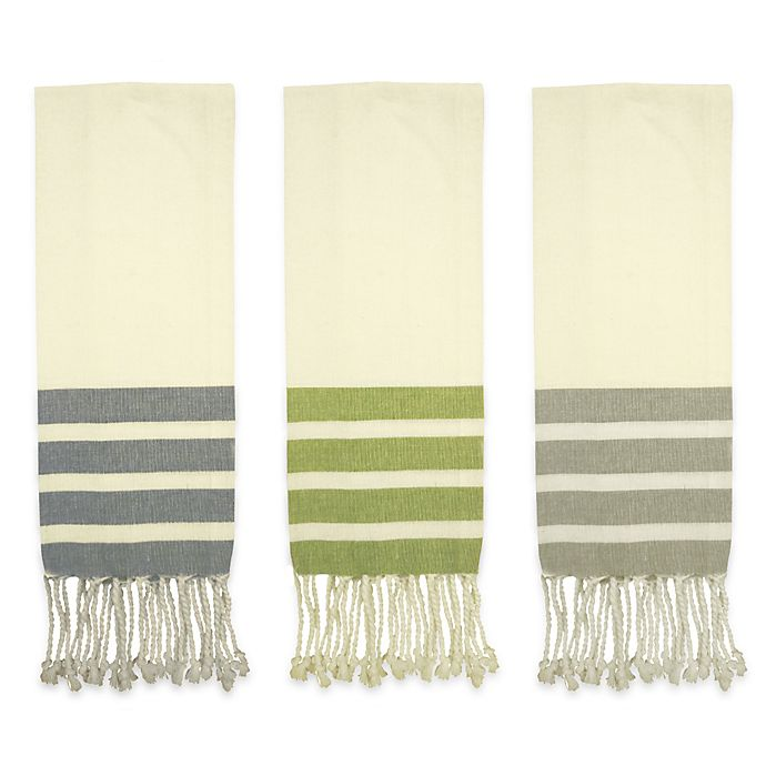 Alternate image 1 for Fouta Kitchen Towels