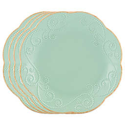 Lenox® French Perle™ Dessert Plates in Ice Blue (Set of 4)