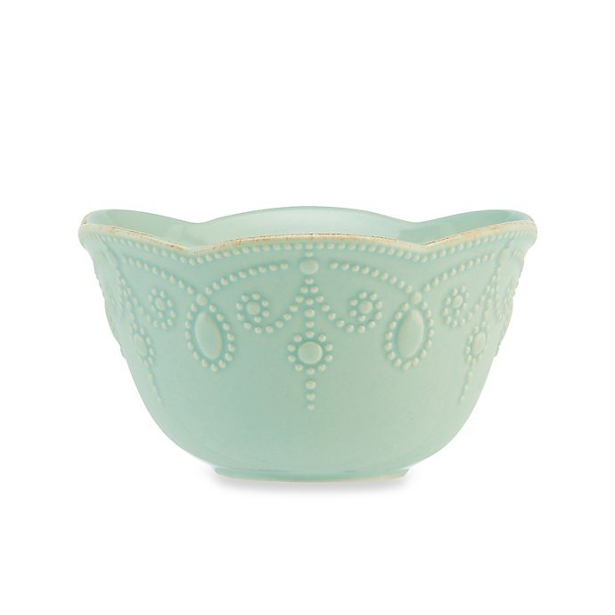 Alternate image 1 for Lenox® French Perle™ Fruit Bowl in Ice Blue
