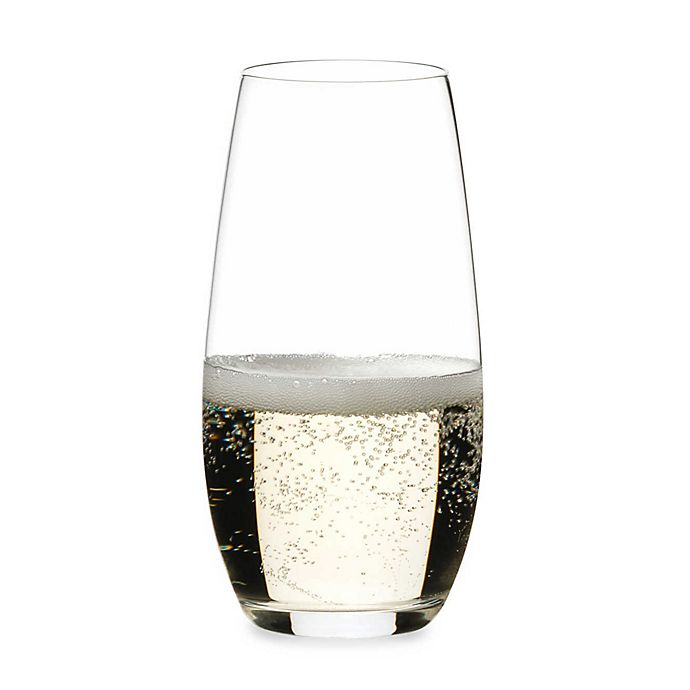 Alternate image 1 for Riedel® O Stemless Champagne Flutes (Set of 2)