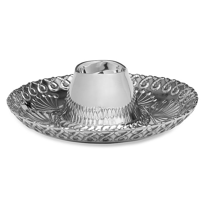 Wilton Armetale 15 Inch Sombrero Chip And Dip Bed Bath Beyond