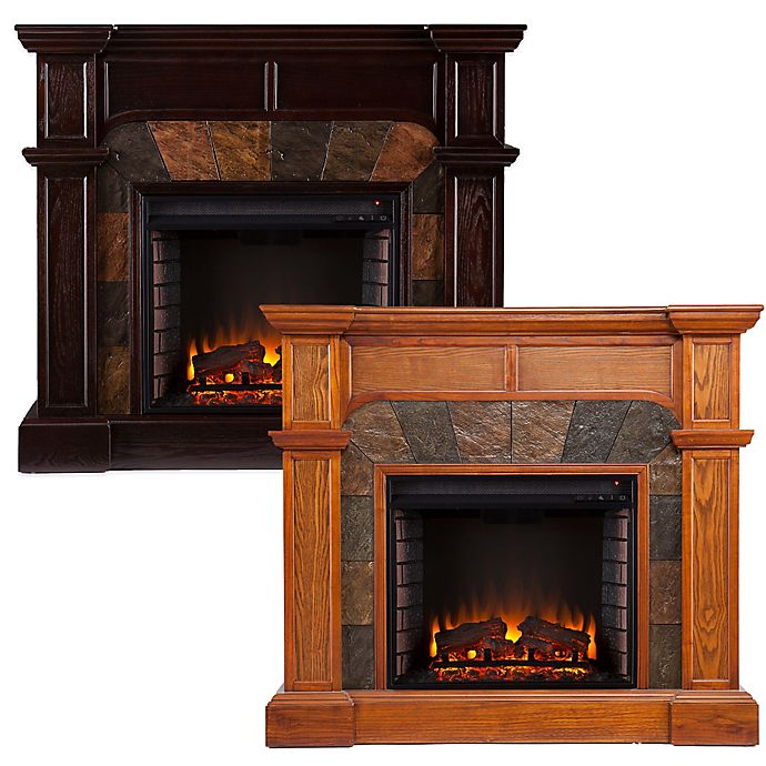 Alternate image 1 for Southern Enterprises© Cartwright Electric Fireplace