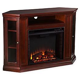 Southern Enterprise Claremont Corner Convertible Electric Fireplace