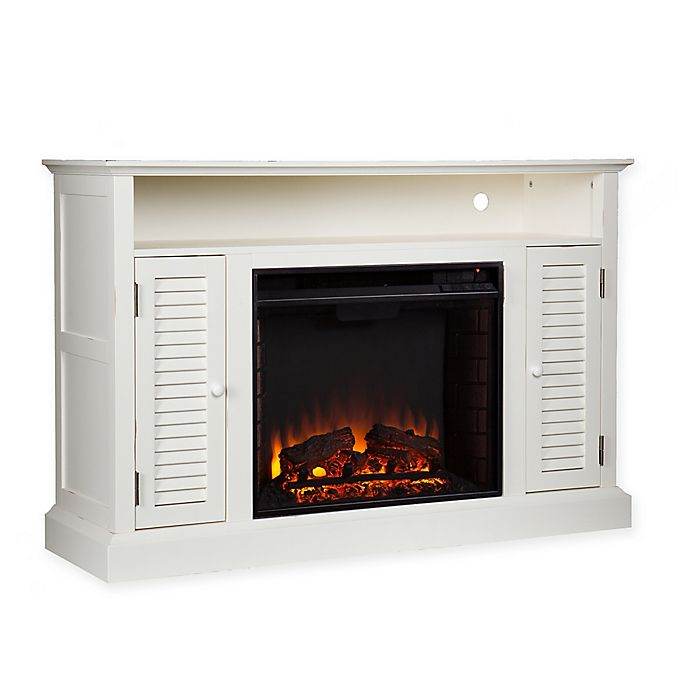 Media Stand Electric Fireplace