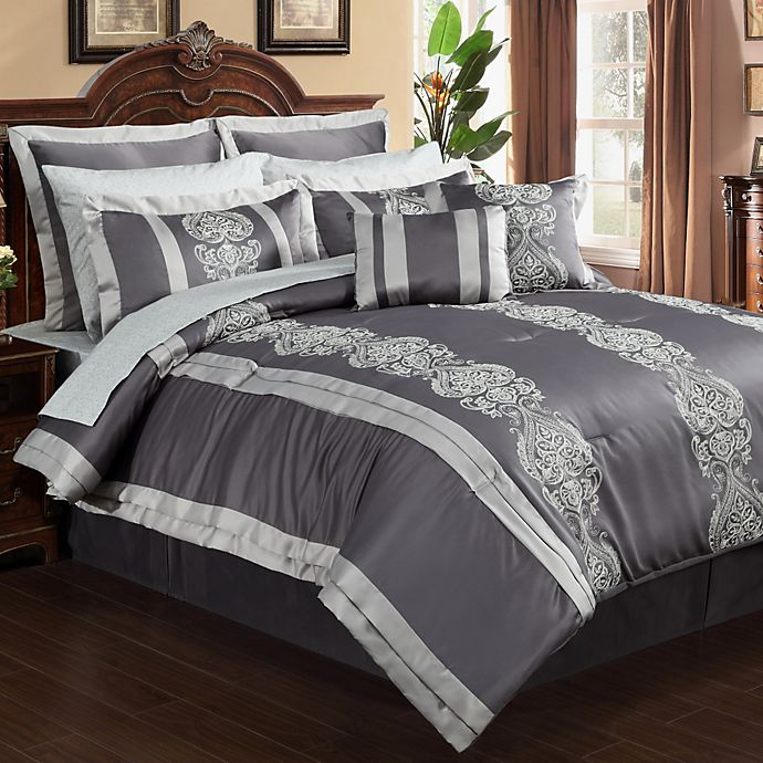 Buy Dynasty 12-Piece Queen Comforter Set From Bed Bath