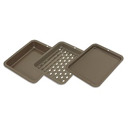 Range Kleen® BW5 Nonstick 3-Piece Petite Bakeware Set