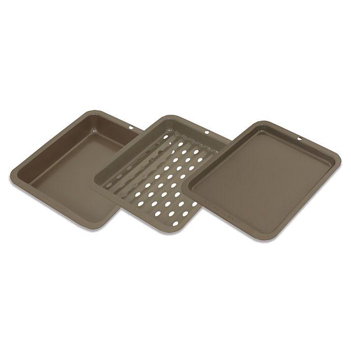 Alternate image 1 for Range Kleen® BW5 Nonstick 3-Piece Petite Bakeware Set