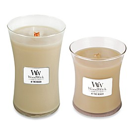 WoodWick® At the Beach Jar Candle
