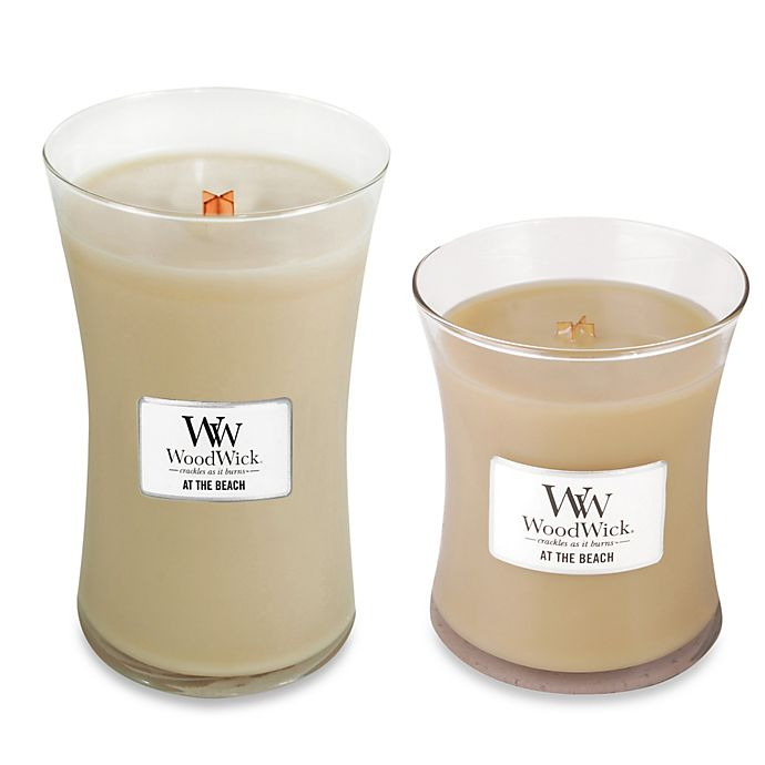 Alternate image 1 for WoodWick® At the Beach Jar Candle