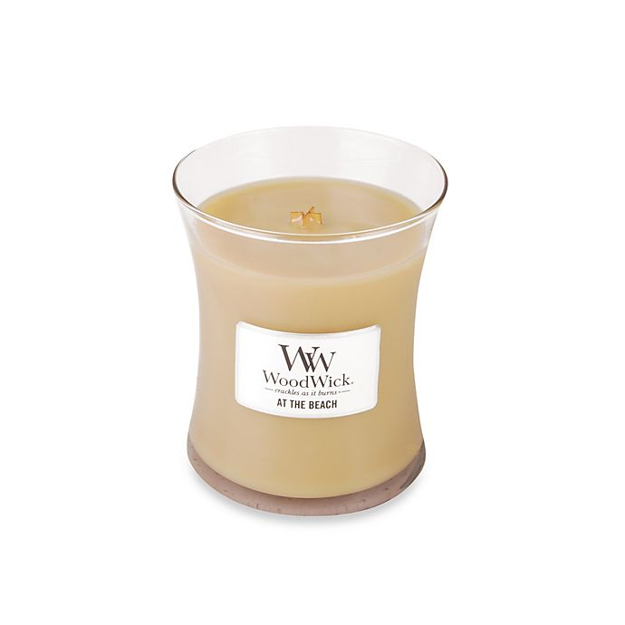 Alternate image 1 for WoodWick® At the Beach 10 oz. Jar Candle