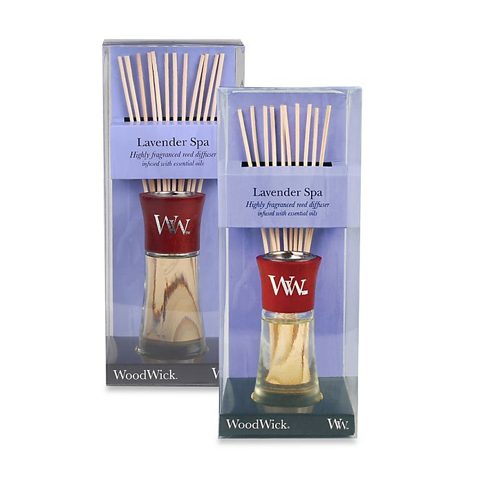 Alternate image 1 for WoodWick® Lavender Spa Reed Aromatherapy Diffuser
