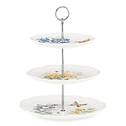 Lenox® Butterfly Meadow® 3-Tiered Server