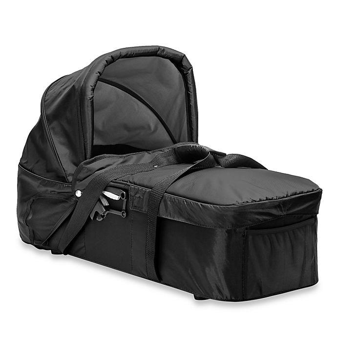 Alternate image 1 for Baby Jogger® Compact Pram in Black/Grey