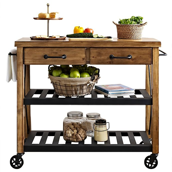 Alternate image 1 for Crosley Roots Rolling Rack Industrial Kitchen Cart