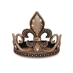 All for Giving Fleur de Lis Silver-Plated Votive Candle Holder