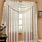 Linen Sheer 95-Inch Pocket Window Panel in Ivory