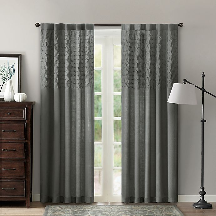 Aria 42-Inch X 84-Inch Window Curtain Panel