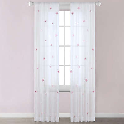Lily Window Curtain Panel in Cream