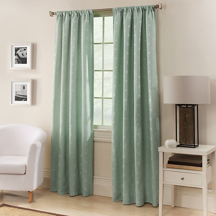 Alternate image 1 for Avalon 84-Inch Window Curtain Panel in Spa Blue