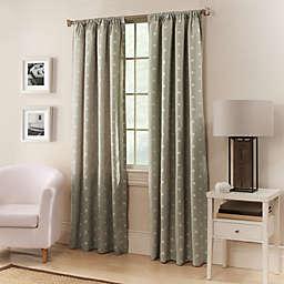 Avalon 95-Inch Window Curtain Panel in Coffee