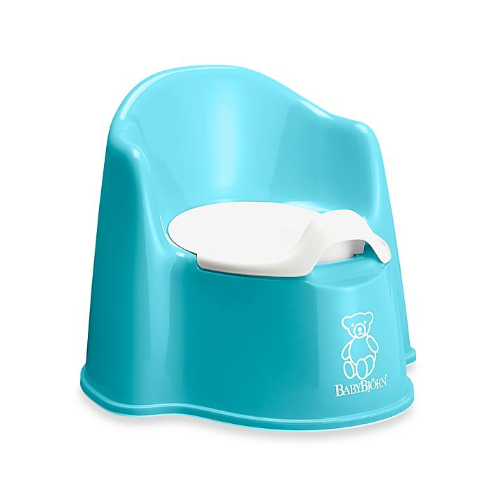 Alternate image 1 for BABYBJORN® Potty Chair in Turquoise