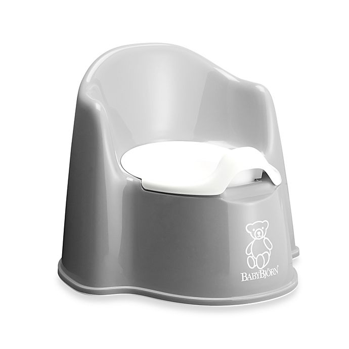 Alternate image 1 for BABYBJORN® Potty Chair in Grey