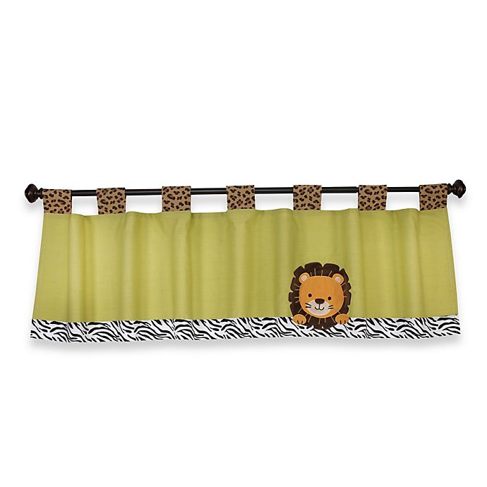 Alternate image 1 for NoJo® Zambia 60-Inch Window Valance