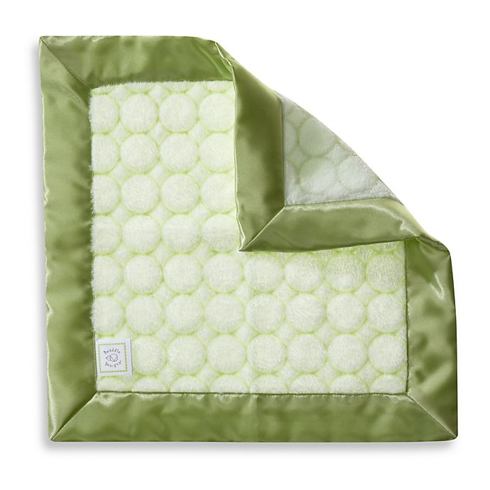 Alternate image 1 for Swaddle Designs® Baby Lovie Security Blanket in Kiwi Green
