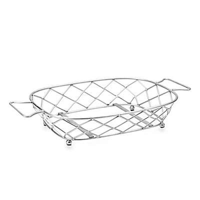 Casafina Meridian Large Rectangular Handled Stand