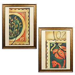 Stamp 26-Inch x 36-Inch Wall Art