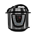 Pressure Pro 6-Quart Electric Pressure Cooker in Black