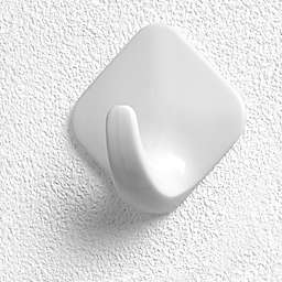 Spectrum™ 6-Pack Adhesive Utility Hooks in White