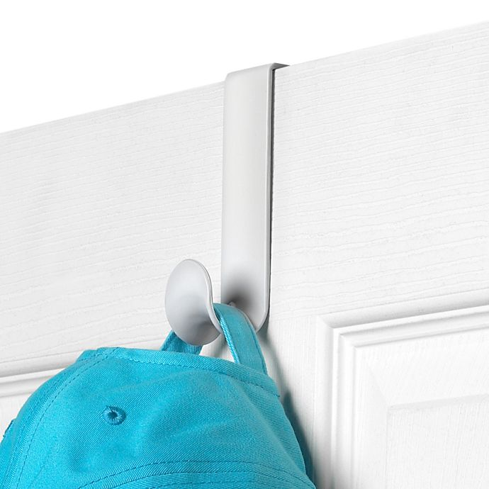 Alternate image 1 for Spectrum® Over-the-Door Hook in White (Set of 2)