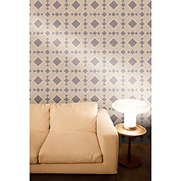 Tempaper® Removable Wallpaper in Diamond Taupe