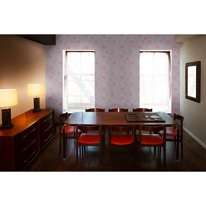Tempaper® Removable Wallpaper In Peonies Rouge