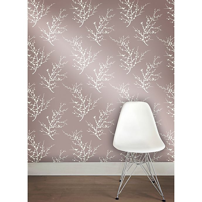 Alternate image 1 for Tempaper® Removable Wallpaper in Edie Champagne