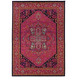 Oriental Weavers Kaleidescope Area Rug in Pink