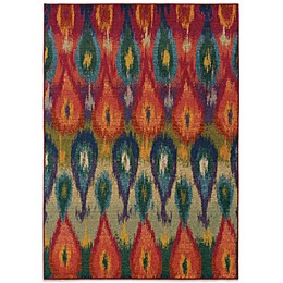 Oriental Weavers Kaleidescope Contemporary Rug in Multi Tribal