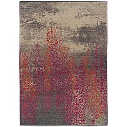 Oriental Weavers Kaleidescope Contemporary Rug in Grey /Pink