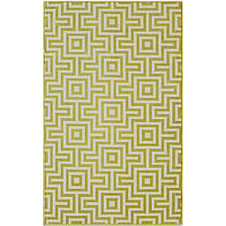 Baja 7-Foot 10-Inch x 10-Foot 10-Inch Indoor/Outdoor Rug in Green