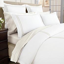 Wamsutta® Baratta Stitch MicroCotton® Pillow Sham in Gold