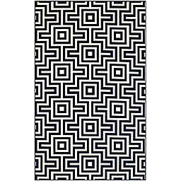 Baja Indoor/Outdoor Rug in Navy