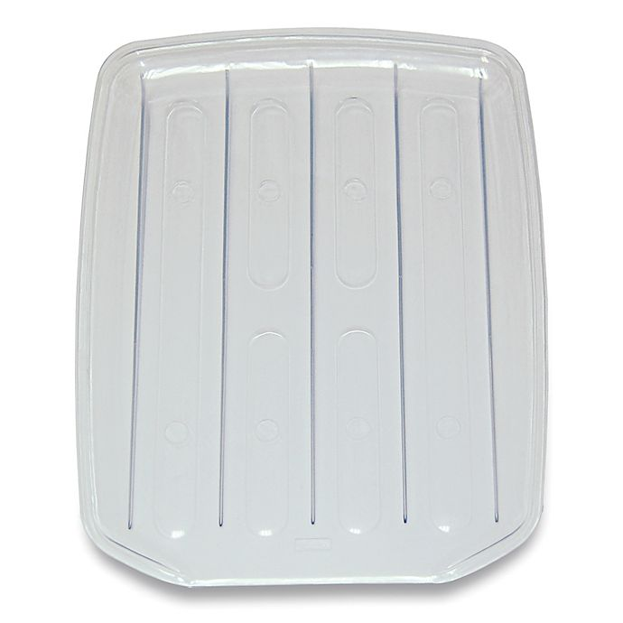 Alternate image 1 for SALT™ Real Home Large Drain Board in Clear