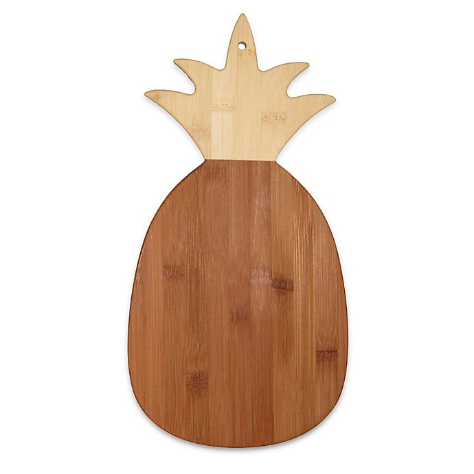 Alternate image 1 for Totally Bamboo Pineapple-Shaped Cutting/Serving Board