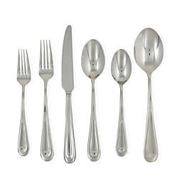 Ginkgo Corrie 42-Piece Stainless Steel Flatware Set