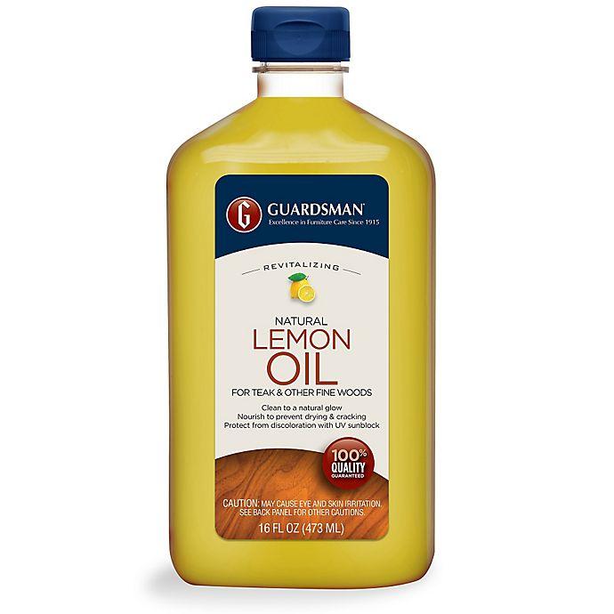 Guardsman 174 16 Oz Revitalizing Lemon Oil With Uv