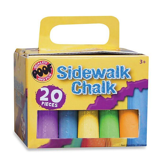 Alternate image 1 for 20-Piece Sidewalk Chalk Set