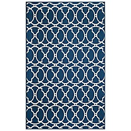 Momeni Baja Indoor/Outdoor Rug in Indigo