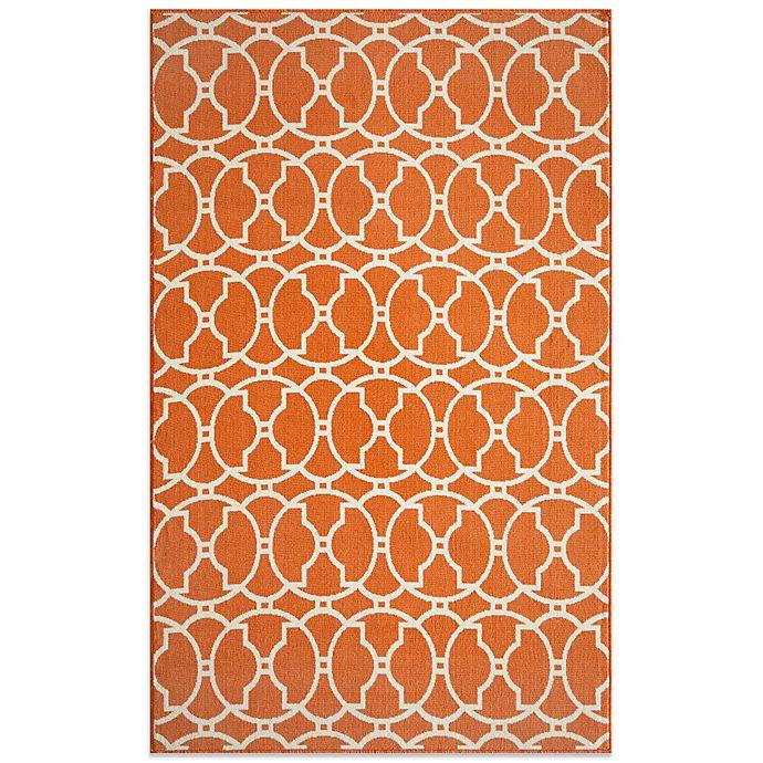 Alternate image 1 for Momeni Baja Indoor/Outdoor Rug in Orange